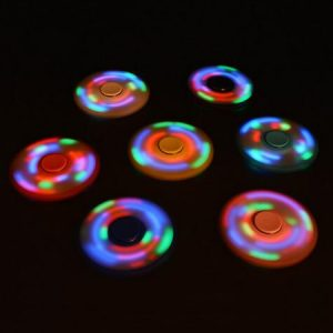 Spinners con luces!