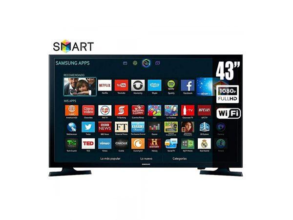 649646833c7b2 Smart TV Samsung de 43 Pulgadas - LlevaUno  Ofertas en restaurantes ...