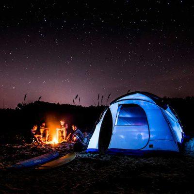 Camping para 2 personas en yvaga rape