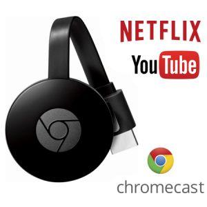 Converti tu tele en Smart Google Chromecast
