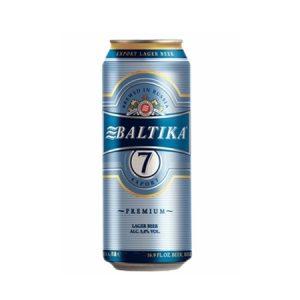 24 Latas de Baltika 7 de medio litro!!! La mejor cerveza de Rusia!