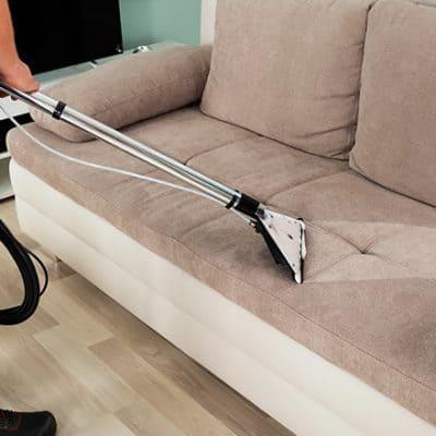 Limpieza y desinfeccion de sillon de 2 cuerpos a domicilio