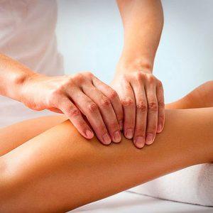 Tratamiento para piernas cansadas, drenaje manual + ondas rusas + presoterapia