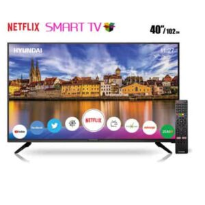 Smart TV LED Hyundai 40″ con sistema Linux