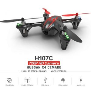 Drone The Hubsan Mini X4 H107C con cámara 720p