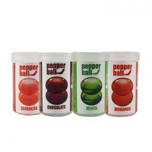 Pepper Ball bolas lubricantes