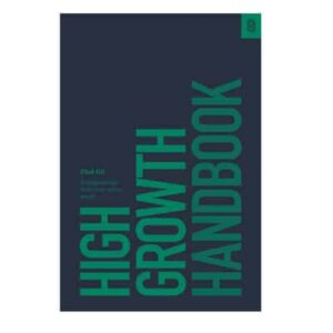 High Growth Hanbook – Elad Gil en inglés tapa dura