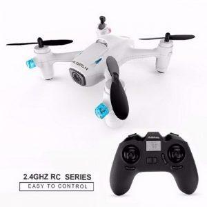 Drone The Hubsan X4 H107C blanco con cámara 720p