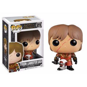 Funko Pop de Tyrion Lannister con armadura de batalla – Game of Thrones