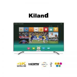 Smart TV Kiland 85″ 4K con 2 controles