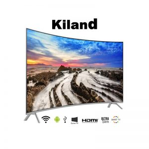 Smart TV Kiland 65″ Curved 4K con 2 controles y Soporte de pared