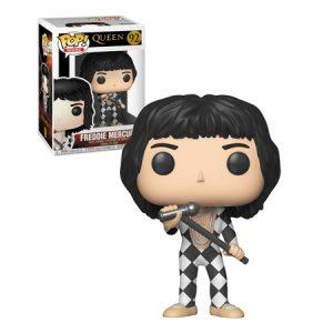 Funko Pop de Freddie Mercury vestido a cuadros