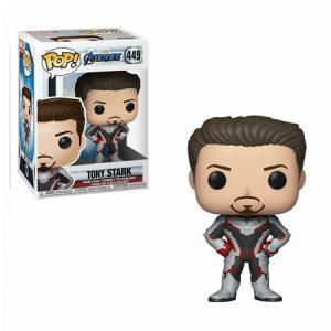 Funko Pop de Tony Stark de Avengers Endgame
