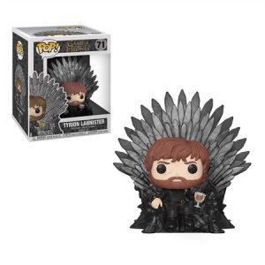Funko Pop de Tyrion con el Trono de hierro – Game of Thrones