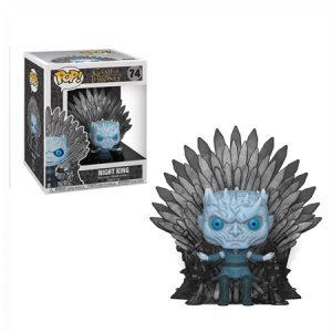 Funko Pop del Night king con el Trono de hierro – Game of Thrones