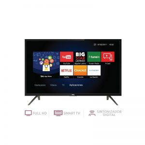 Smart TV TCL 32″ HD con Soporte
