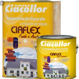 Impermeabilizante CIAFLEX de 18 lts. Blanco