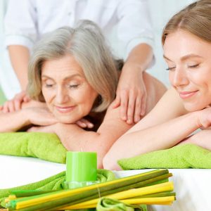 Masaje cervico craneal + Masaje relax y Reflexologia Para Dos x el mes de Mama