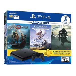 PlayStation 4 Slim de 1TB con 3 juegos