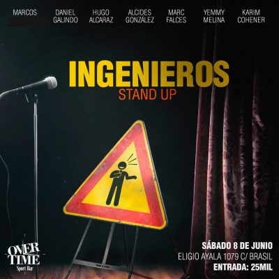 Show de stand up sabado 8 de junio del 2019 23:00hs