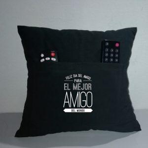 Almohada personalizada con porta control