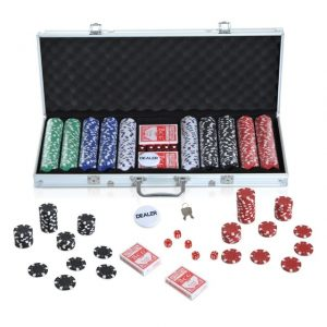 500 Piezas Power game set
