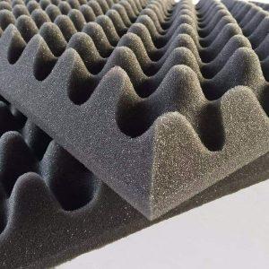 Plancha Rectangular Espuma Acústica Perfilada 190x100x4cm (LxAxAL)  D18