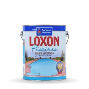 Pintura LOXON  para piscinas azul 4 lts.
