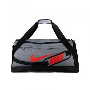 Bolso Nike Brasilia tamaño M – Gris