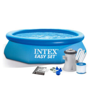 Pileta Intex borde Inflable 3853 Litros + Filtro