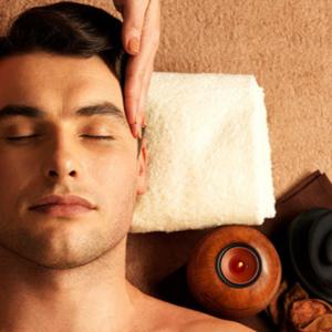 Para Ellos, Masaje Relax + Limpieza Facial Profunda + Sauna