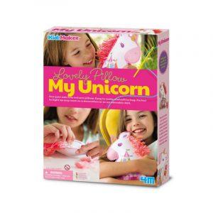 Almohada para bordar My Unicorn de 4M