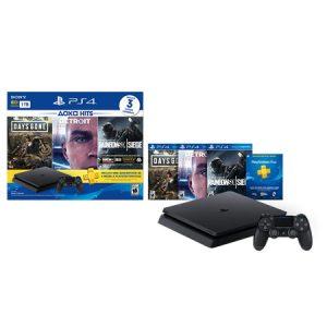 No pases una cuarentena sin tu PlayStation 4 Slim de 1TB con Days Gone – Detroit – Rainbow Six Siege