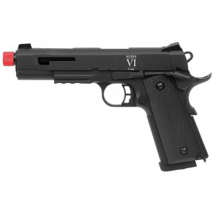 Pistola Airsoft Secutor Rudis VI SAR0003 Black Barrel 6mm
