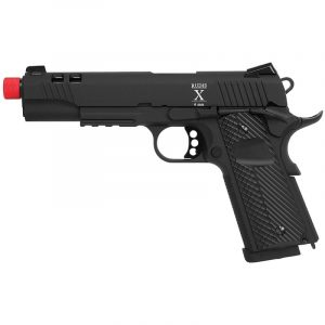 Pistola Airsoft 6mm Black Secutor Raw 10 Acta Non Verda SAR0025